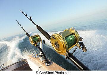 pesca del juego grande