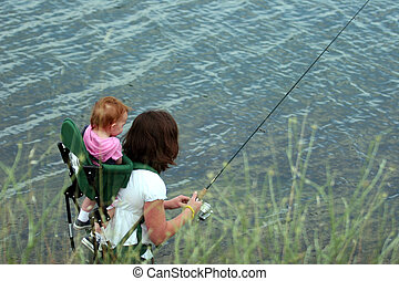 pesca, familia