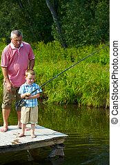 pesca, juntos