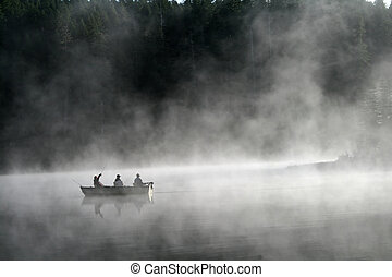 pesca lago