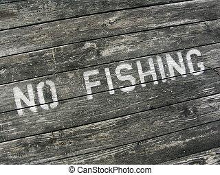 pesca, não