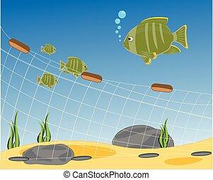 pesca neta, seaborne