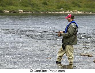 pesca río