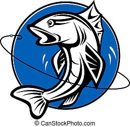 pesca, simbolo