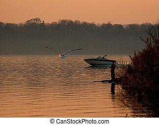 pesca, stagione, inizio