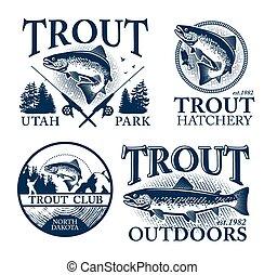 pesca, trucha