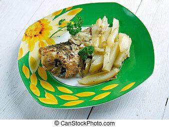 pescado,  frito