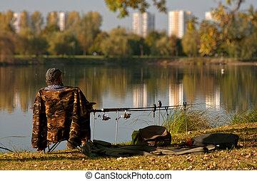 pescador de caña