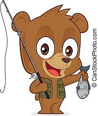 pescador, oso