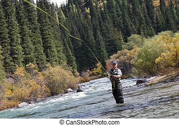pescador, vuele pescando