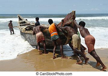 pescadores, indianas