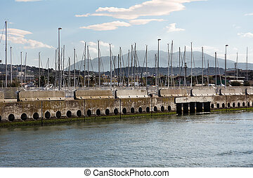 Pescara harbour