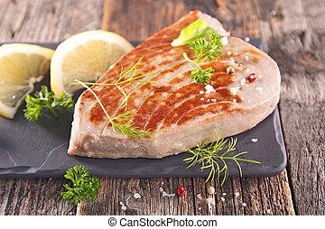 pesce cotto ferri