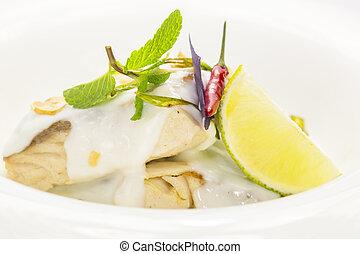 pesce cotto forno