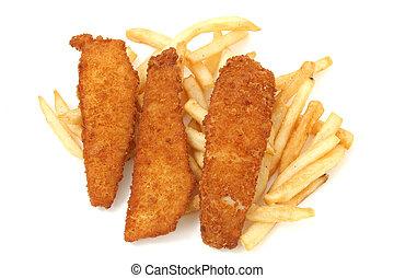 pesce fritto, assi