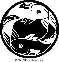 pesci, fish, oroscopo, zodiaco, segno