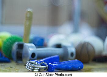 peso, fisioterapia, mano, dumbell, exerciser, rehabilitación