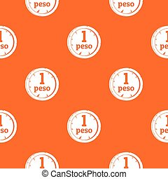 Peso pattern seamless