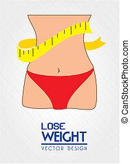 peso, perder