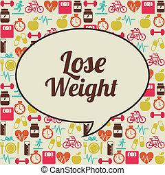 peso, perdere