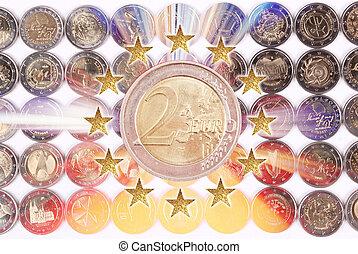 pesos,  Euro
