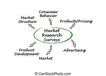 pesquisa mercado, levantamentos