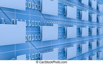 pesquisar, dados computador