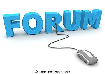 pesquisar, forum, -, cinzento, rato