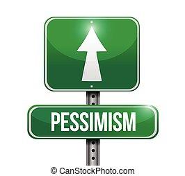 pessimismo, desenho, rua, ilustração, sinal
