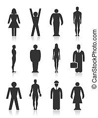 pessoa, ícone