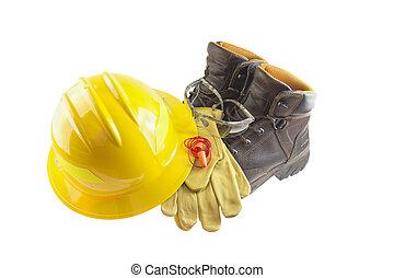 pessoal, equipamento, protetor