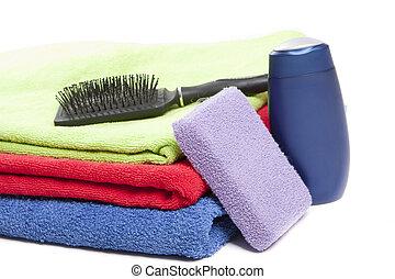 pessoal, itens, higiene