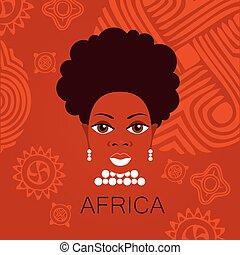 pessoas, áfrica, sinal