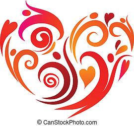 pessoas, amor, -, 2
