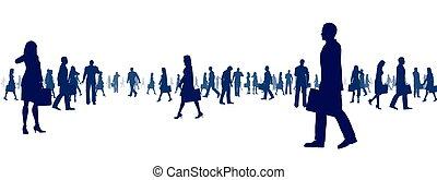 pessoas, conceito, negócio