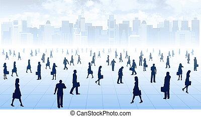 pessoas, conceitos, negócio