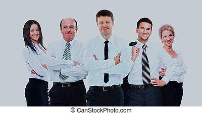 pessoas., grupo, negócio