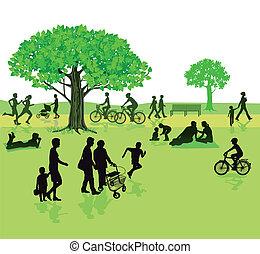 pessoas, natureza