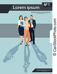 pessoas negócio, grupo, equipe, recursos humanos