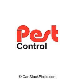 pest control text vector
