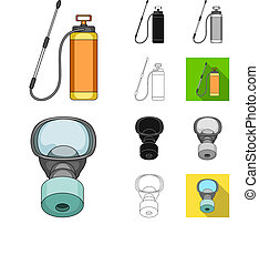 Pest, poison, personnel and equipment...