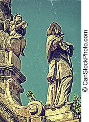 peste, photo, 2, vieux, monument