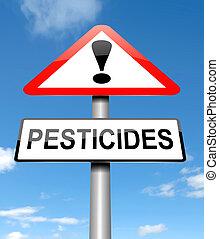 pesticidas, concept.
