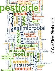 Pesticide background concept - Background concept wordcloud...