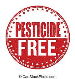 Pesticide free stamp