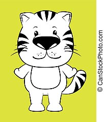 Pet and animals funny cartoon
