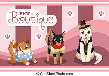 Pet boutique