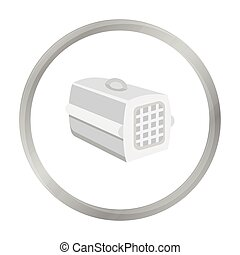 Pet case icon of vector illustration for web and mobile