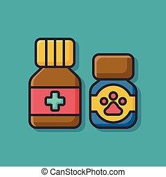 pet drug icon