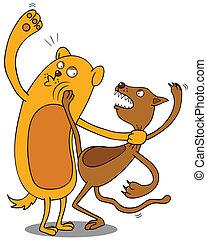 pet fighting